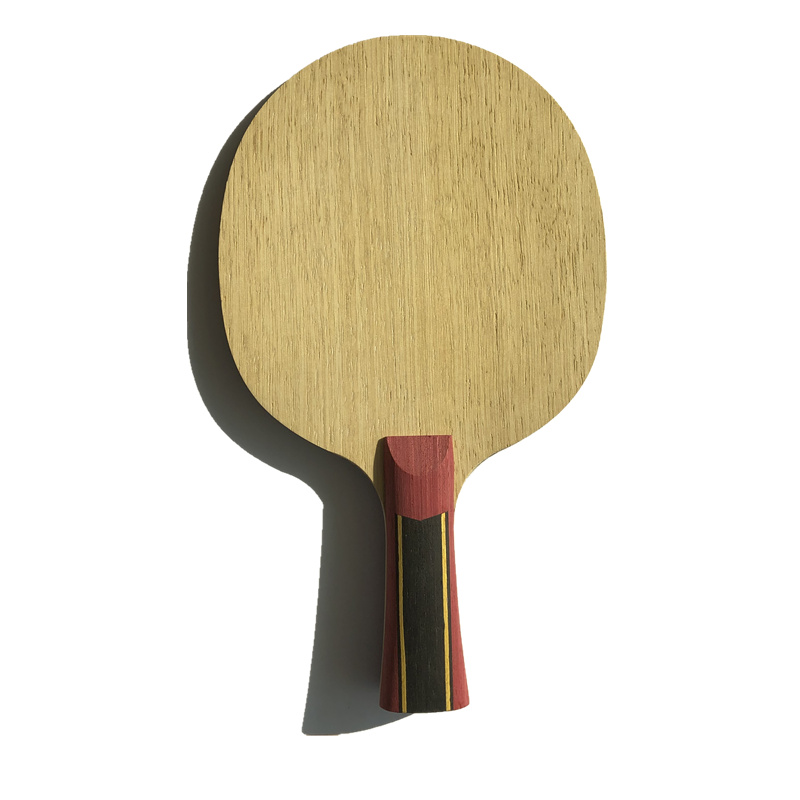 Horizontal Grip FL Or ST Handle 5 Layers Wood With 2 Layers Super Zl Carbon Fiber Table Tennis Racket Only Blade For Ping Pong