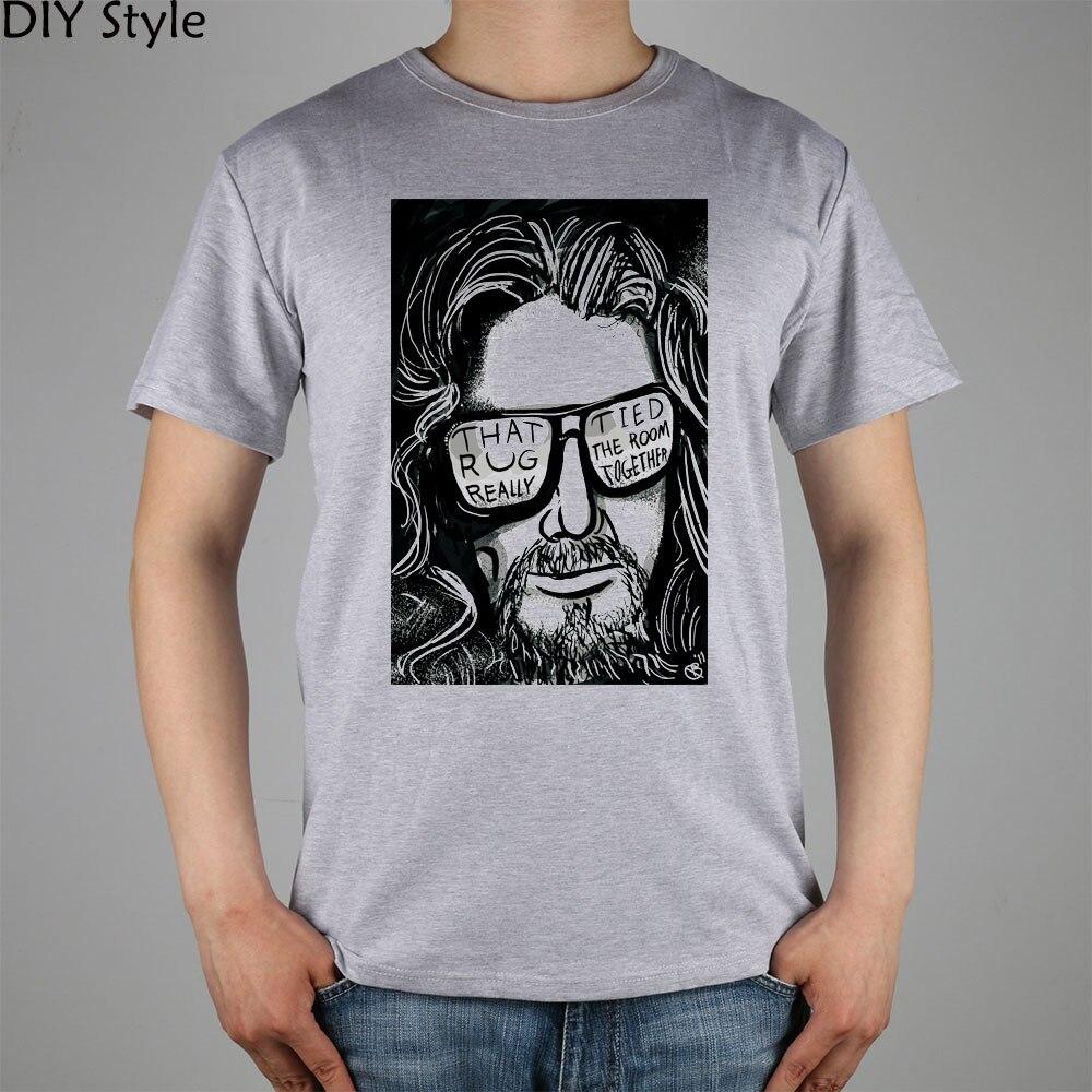 THE BIG LEBOWSKY Movie DUDE T shirt cotton Lycra top 10956