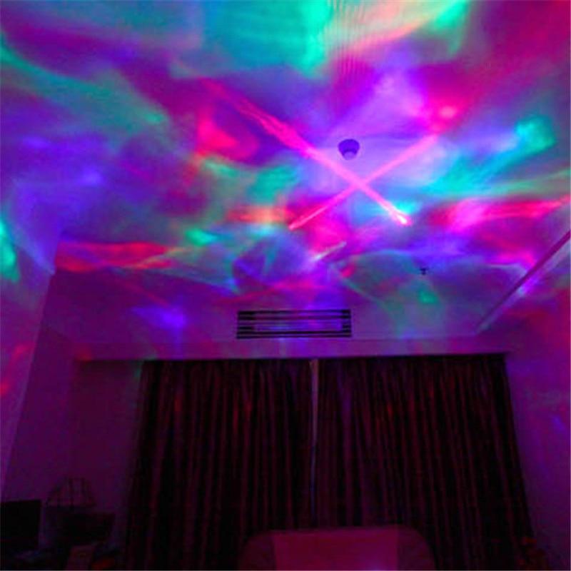 1x Diamond Aurora Borealis Projector Lamp With Speaker For