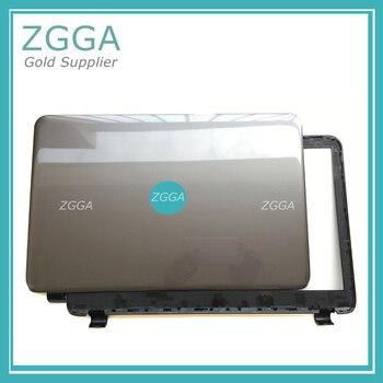 Genuine NEW for HP 250 255 256 G3 15-G 15-H 15-R 15-T 15-Z Laptop LCD Rear Lid Top Cover + Bezel Frame Case Gray 760963-001