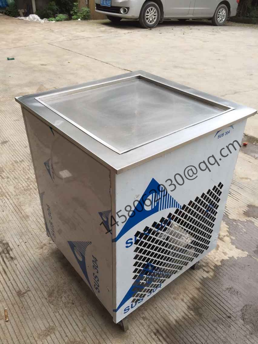 thailand rolled fried ice cream machine hot sale ice fryer pot for fried yogurt with fruit or fried ice cream rolls machine free air ship ce stainless steel fried ice cream machine single pan freezer ice pan machine with defrost for ice cream rolls