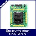 STM32-QFP176  LQFP176 0 5 мм Шаг ямайчи IC51-1764-1505-5 предназначен для STM32 MCU Поддержка JTAG SWD USART Серийный порт