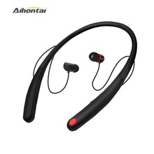 Bluetooth Stereo Headphones Magnetic Wireless Neckband Earphones Noise Cancellation Sport Waterproof Headset with Mic For iphone
