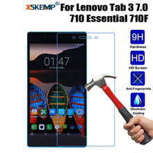 XSKEMP 9H Real Tempered Glass For Lenovo Tab 3 7.0 710 Essential 710F LCD Screen Protector Tempered Glass Protective Guard Film