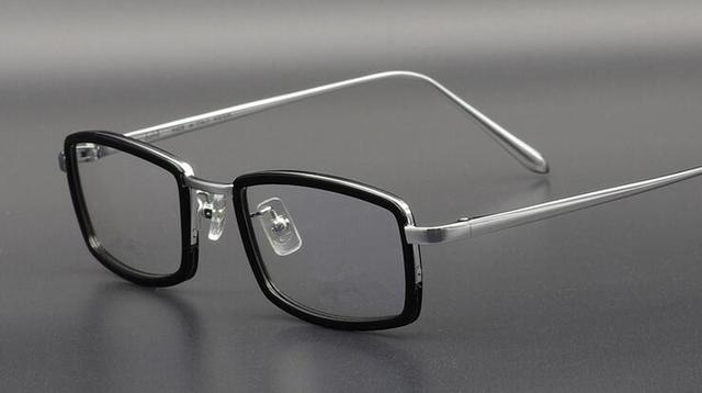 238de0866c21 2017 Wecooland Brand Designer Pure Titanium Eyeglasses Frames WLO61691T  optical frame Men Eyewear glasses frame spectacles