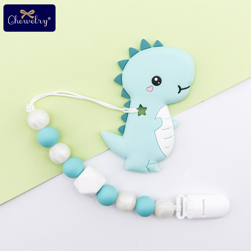 Baby Silicone Chain Pacifier-Clip Nipple-Holder Goods Perle Food-Grade Rodents for Kid title=