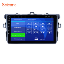 Seicane 9 inch Android 7.1/6.0 Car GPS Multimedia for 2006-2012 Toyota Corolla Navi Player with Radio Bluetooth Mirror Link