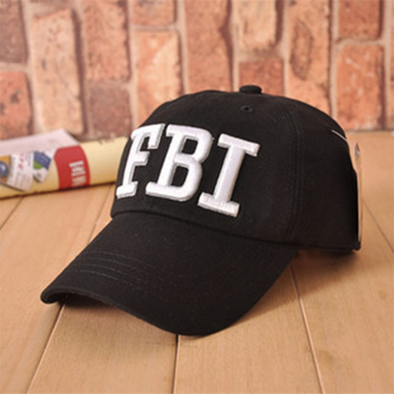 High quality Wholesale Retail 1pc free shipping voron Hat &   Cap   FBI Fashion Leisure embroidery   CAPS   Unisex   Baseball     Cap