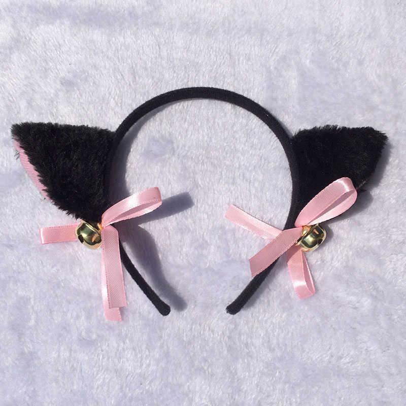 נשים חמוד שיער אביזרי אופנה ליידי ילדה שועל חתול אוזני ראש להקות יפה מקסים לילה המפלגה מועדון בר שיער קליפ גומייה לשיער