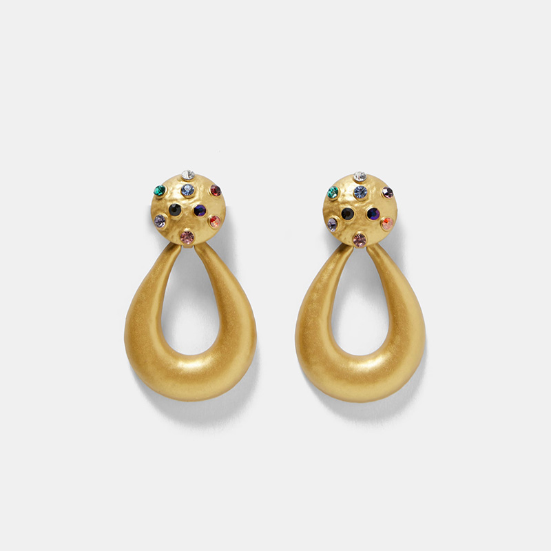 Vintage-Colorful-Crystal-Water-Drop-Earring-For-Women-Bohemia-Punk-Gold-Metal-Statement-Big-Dangle-Earrings (1)