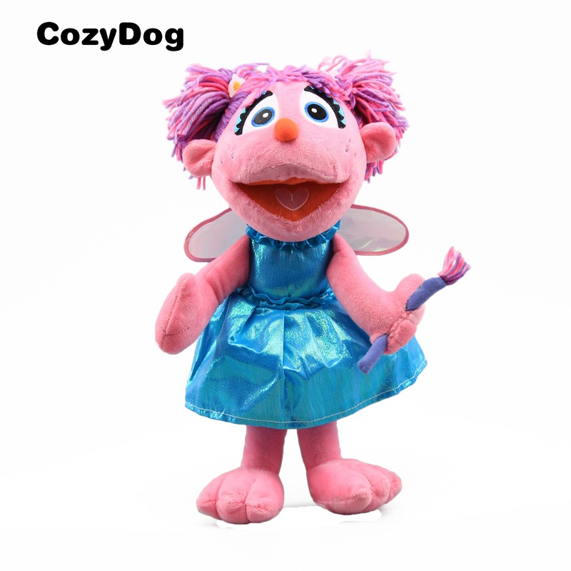 Us 14 67 10 Off 35 Cm 14 Sesame Street Abby Cadabby Plush Toy Doll Soft Stuffed Toys For Children Gift Cute Doll Xmas Gift Best Quality Dolls In