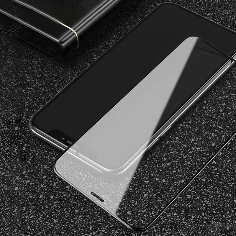 BXE 5D Curved Full Cover Tempered Glass For Apple iPhone X Xs Max Xr Screen Protector On The For iPhone X s Max Glass Film 3D in Phone Screen Protectors from Cellphones Telecommunications