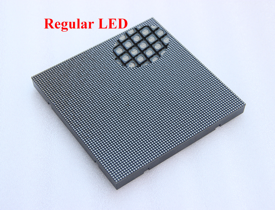 Image 3 - 160*160mm 64*64 pixels 1/32 Scan 3in1 RGB P2.5 Indoor Full color LED Display module-in LED Displays from Electronic Components & Supplies