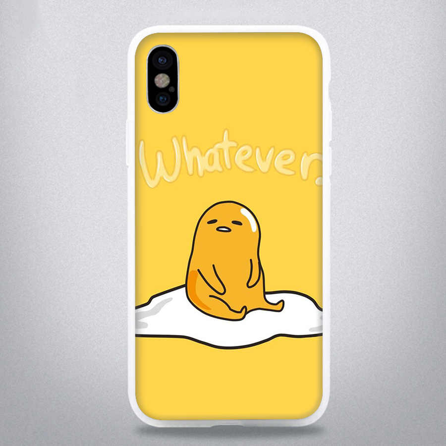 Caso de telefone Adorável Egg para o iphone 6 6s 7 8 Plus iPhone 5 11 Pro X XR XS Max 5S Se Capa de Proteção