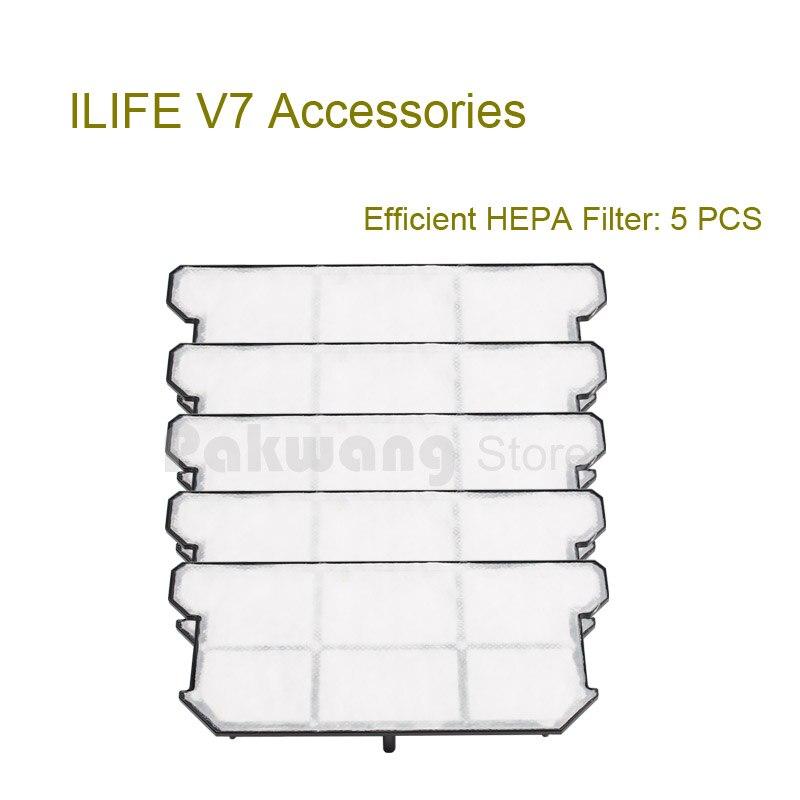 Original Robot vacuum cleaner parts ILIFE V7 Efficient HEPA Filter 5 pcs from the factory optimal and efficient motion planning of redundant robot manipulators