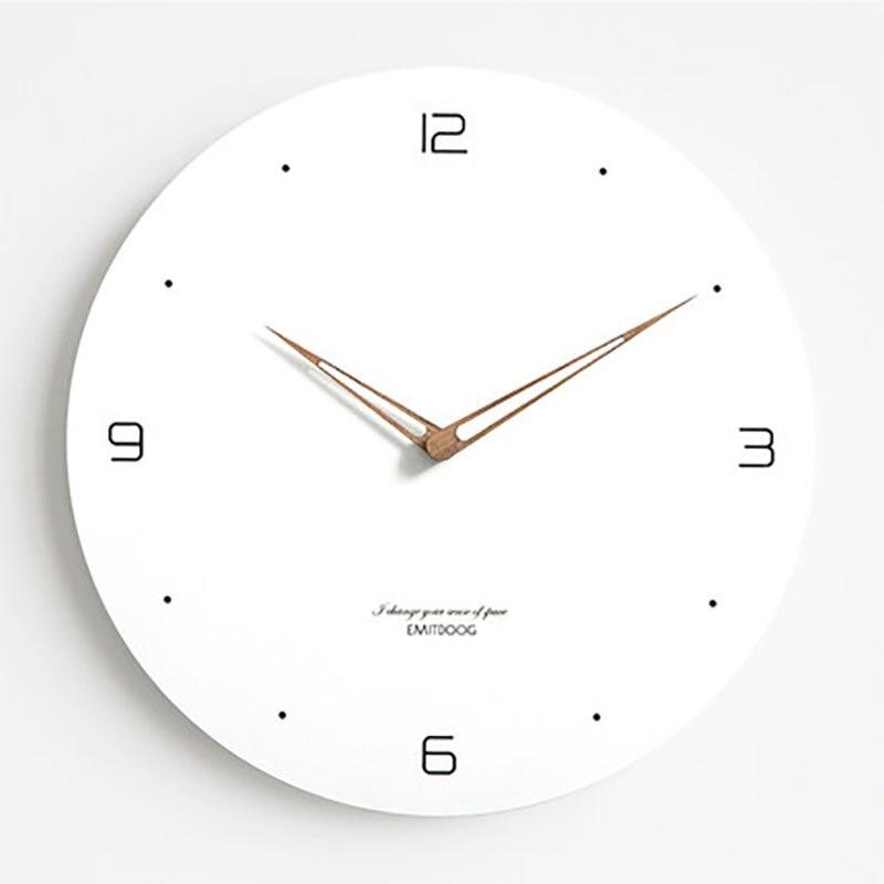 Модные женские часы, настенные часы, современный минимализм, гостиная, атмосфера, бесшумный Relogio Parede, кварцевые, скандинавские настенные час...