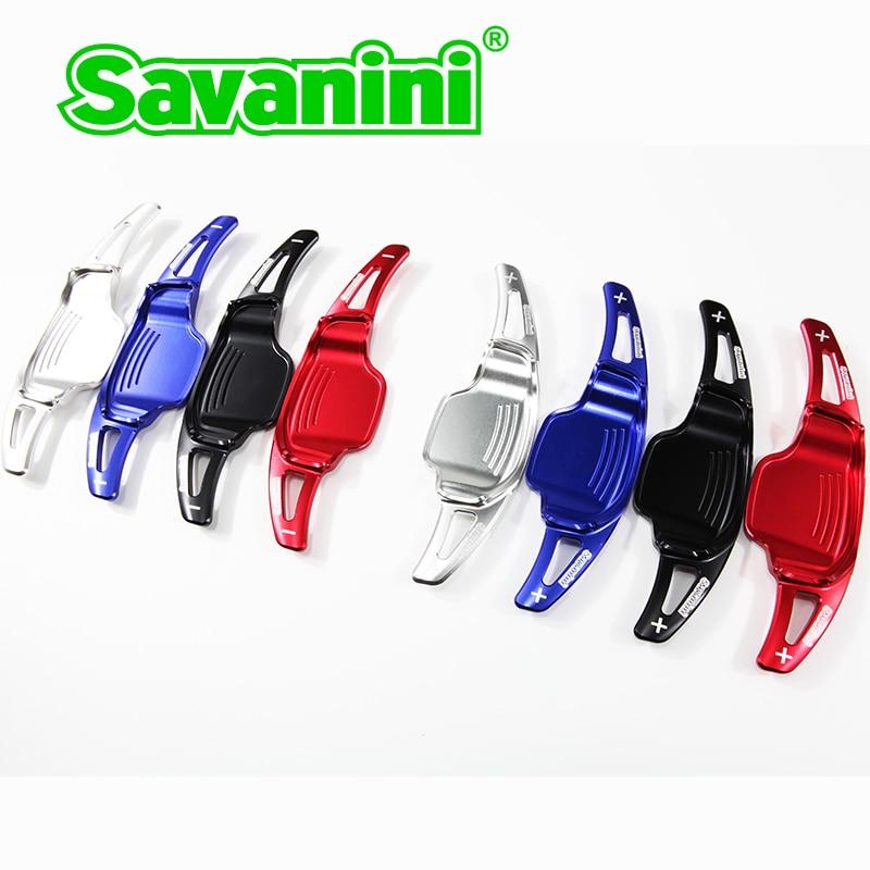 Savanini alumínium kormánykerék DSG váltó lapát váltó - Autóalkatrész - Fénykép 3