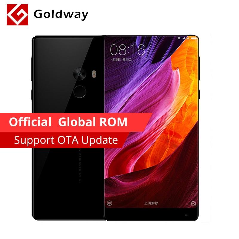 "Earphone Gift! Original Xiaomi Mi MIX Mobile Phone Snapdragon 821 4GB RAM 128GB ROM 6.4"" 2040x1080P FHD Edgeless Display"