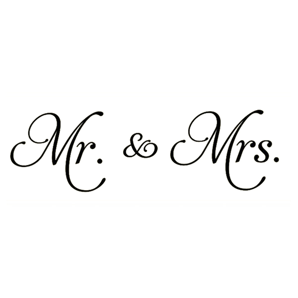 Mr Mrspvc Decals Decor Wall Stickers Words Family Decal Quotes