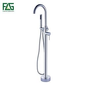 FLG Chrome Bathtub Faucet Bath