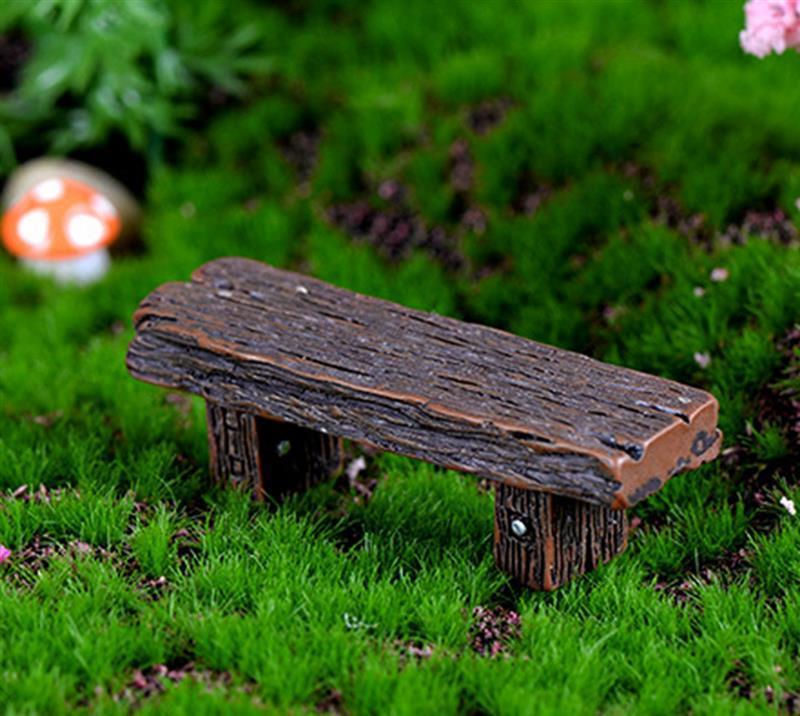 1pcs Random Chair Miniatures Figurines Jardin Terrarium Decor Home Bonsai Ornaments Home Decoration Accessories