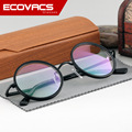 Restaurar Antigas Formas Rodada Óculos de Armação Quadro Masculino Senhora Decoração Estudo Círculo Miopia Óculos Armação de óculos Campus Literatura