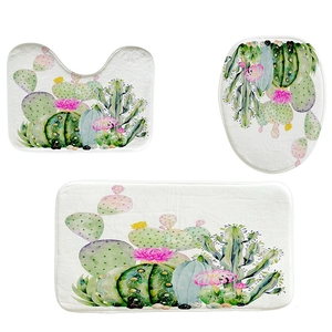 4Pcs Home Bathroom Decor Set W