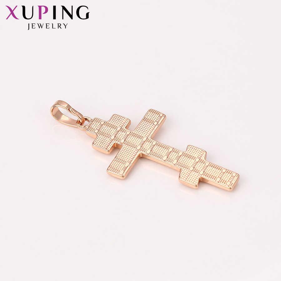 Xuping Estetica Classica Croce Modello di Nuovi Prodotti Scorrevole Pendente per la Signora Regalo Di Natale S120, 9-33039