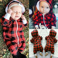 Newborn Kids Baby Boy Girl Infant Cotton Jumpsuit Bodysuit Clothes Outfit