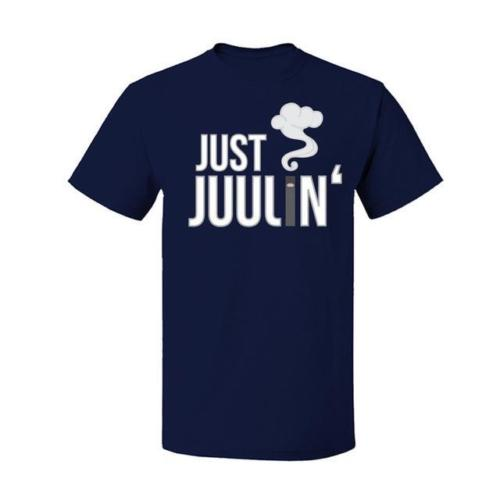 Summer Personality Fashion T Shirts Fashion 2018 Juul Just Juulin' T Shirt