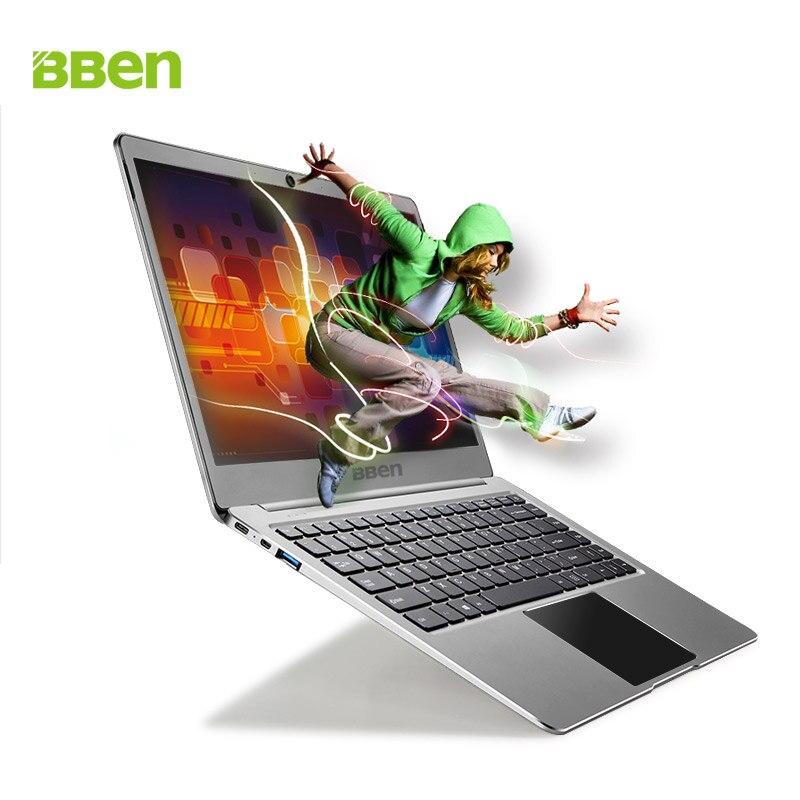 Bben n14w Оконные рамы 10 ноутбука Ultrabook Тетрадь Intel Apollo Lake n3450 core компьютер 16: 9hd экран 4 г/64 г RAM/EMMC без SSD Вариант