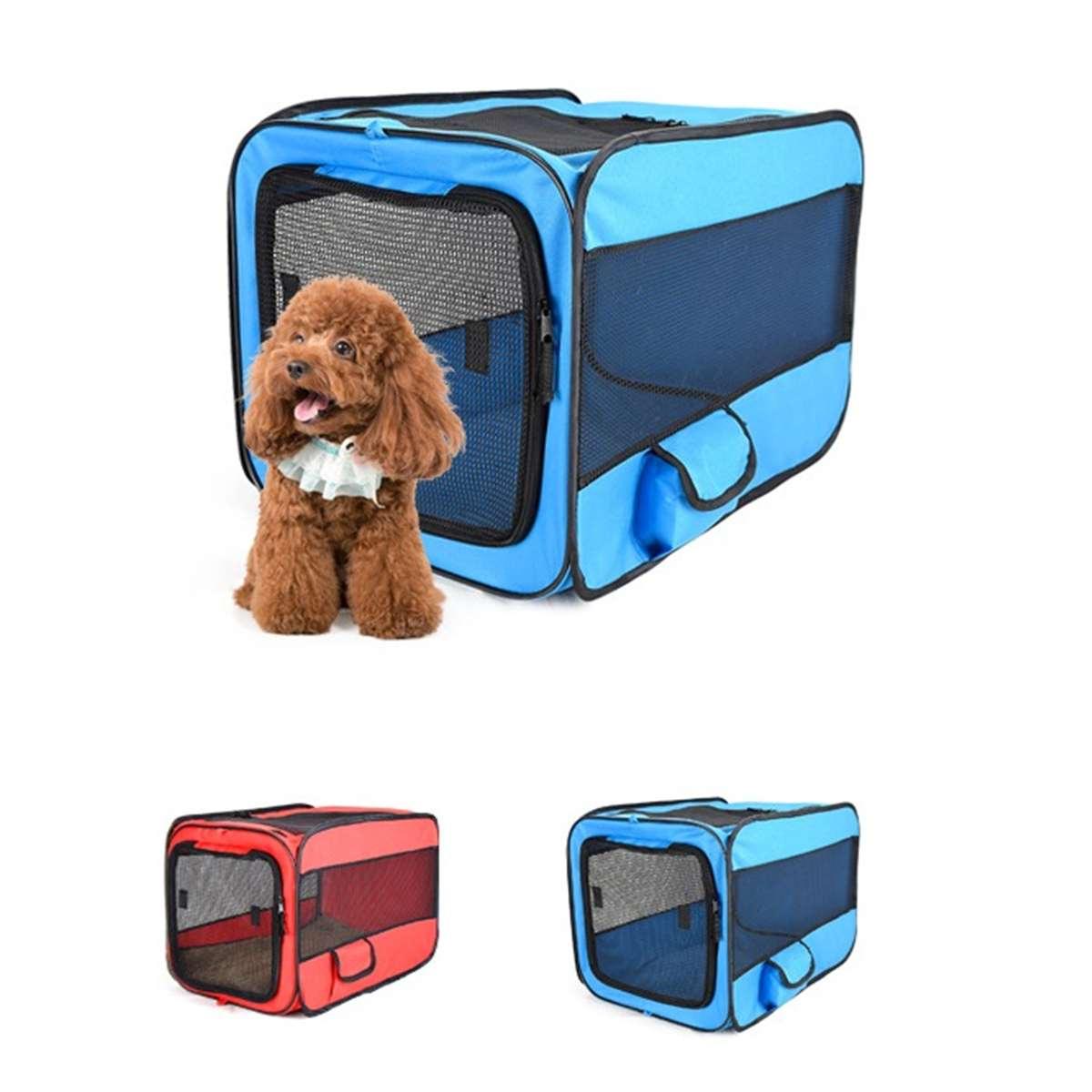 Portable pliant Pet tente 600D Oxford chien maison Cage chien chat tente parc chiot chenil opération facile octogonale clôture chien maisons