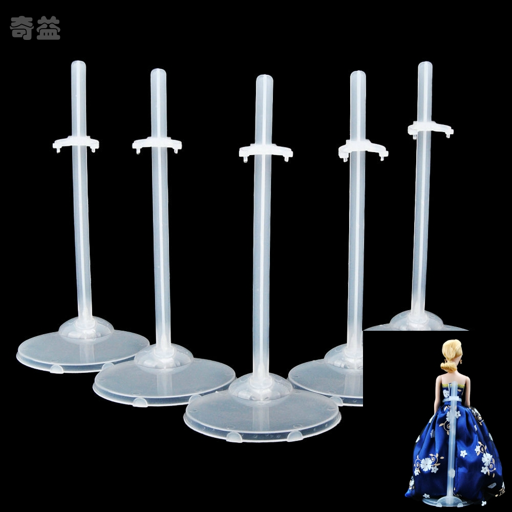 5Pcs Doll Stand Display Holder For Barbie Dolls Doll House Girls Toy Gift Mannequin Model Display Holder LTT9205