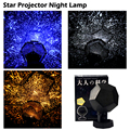 HY 3 Colors Celestial Star Projector Lamp Night Light Starry Sky Romantic Lamp Bedroom Decoration Lighting Gadget Wholesale