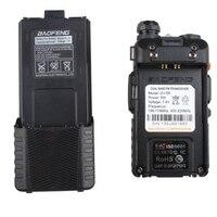 uv 5r Baofeng UV-5R Dual Band UHF / VHF רדיו המשדר W / שדרוג אפרכסת עם סוללת גרסת 3800mah - Built-in פונקצית VOX (3)