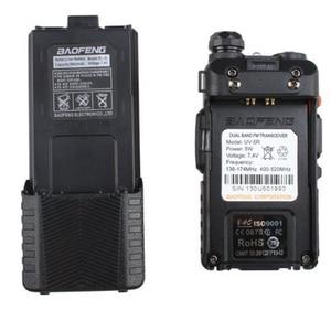 Image 3 - Baofeng UV 5R Dual Band UHF/VHF רדיו משדר W/שדרוג גרסת 3800 mah סוללה עם אפרכסת מובנה פונקצית VOX