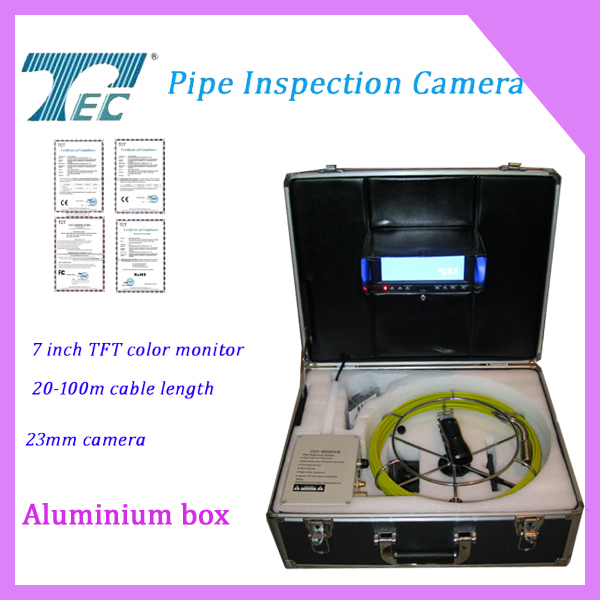 Best Price Professional Manhole Drain Pipe Inspection Camera TEC-Z710DM with 50m cable