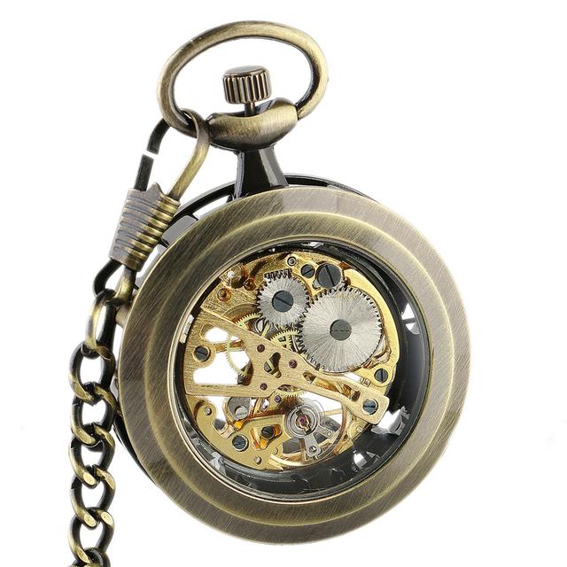 Moment Keeper – Mechanical Steampunk Pocket Watch