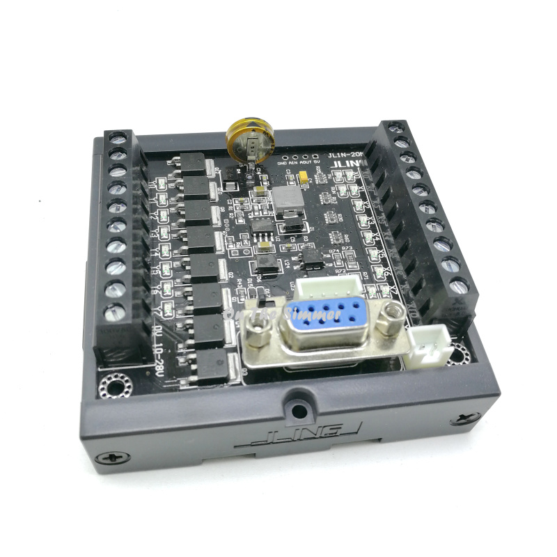 Domestic PLC FX1N-20MT Rail Installation With The Same Number Of Points, The Smallest Size Can Be Directly Shot
