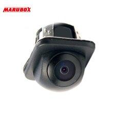 Автомобильная универсальная компактная камера заднего/переднего обзора Marubox M183 Угол обзора камеры 170° CMOS матрица 0,1 Lux функция отключения парковочных линий и изменения заднего вида на передний