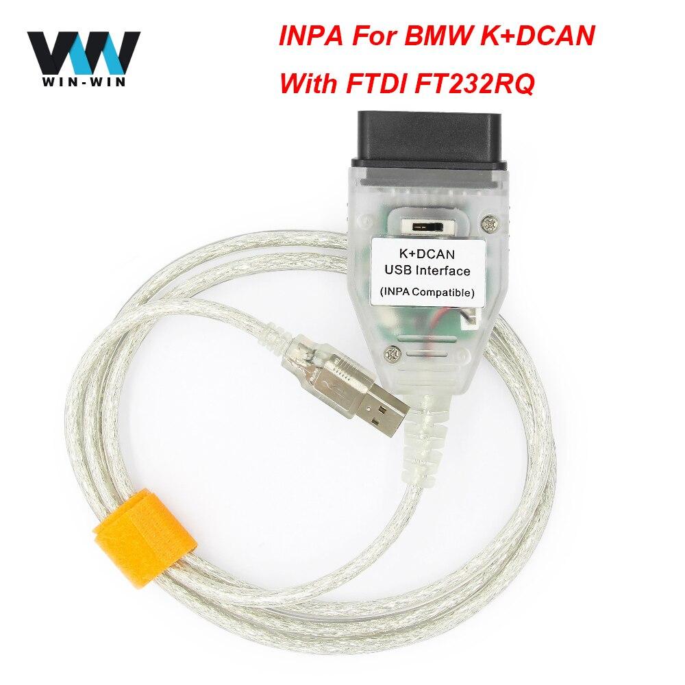 Dcan Interfaccia Usb Cavo Diagnostica Per Auto K Dcan Obd2/Usb Cavo Connettore Diagnostico Obdii Cable-Obd2/Tool Inpa Ediabas K
