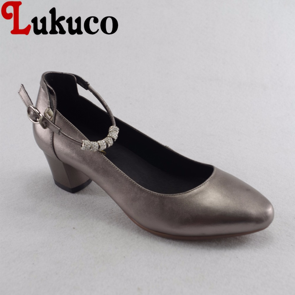 Lukuco elegant style string bead decoration women pointed toe pumps microfiber made low square heel shoes with pigskin inside lukuco pure color women mid calf boots microfiber made buckle design low hoof heel zip shoes with short plush inside