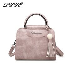 2018 Hand Bags For Women Handbags Simple Fashion Flap Tassel Small Woman  Messenger Sling Leather Bag Korean Shoulder Bag Bolsas b065a80da7825
