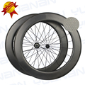 Chinese Carbon Fiber Dimple Road Bike Wheels 80mm Width 700c Carbon Road Bike Wheelset Roue Carbone Velo Route