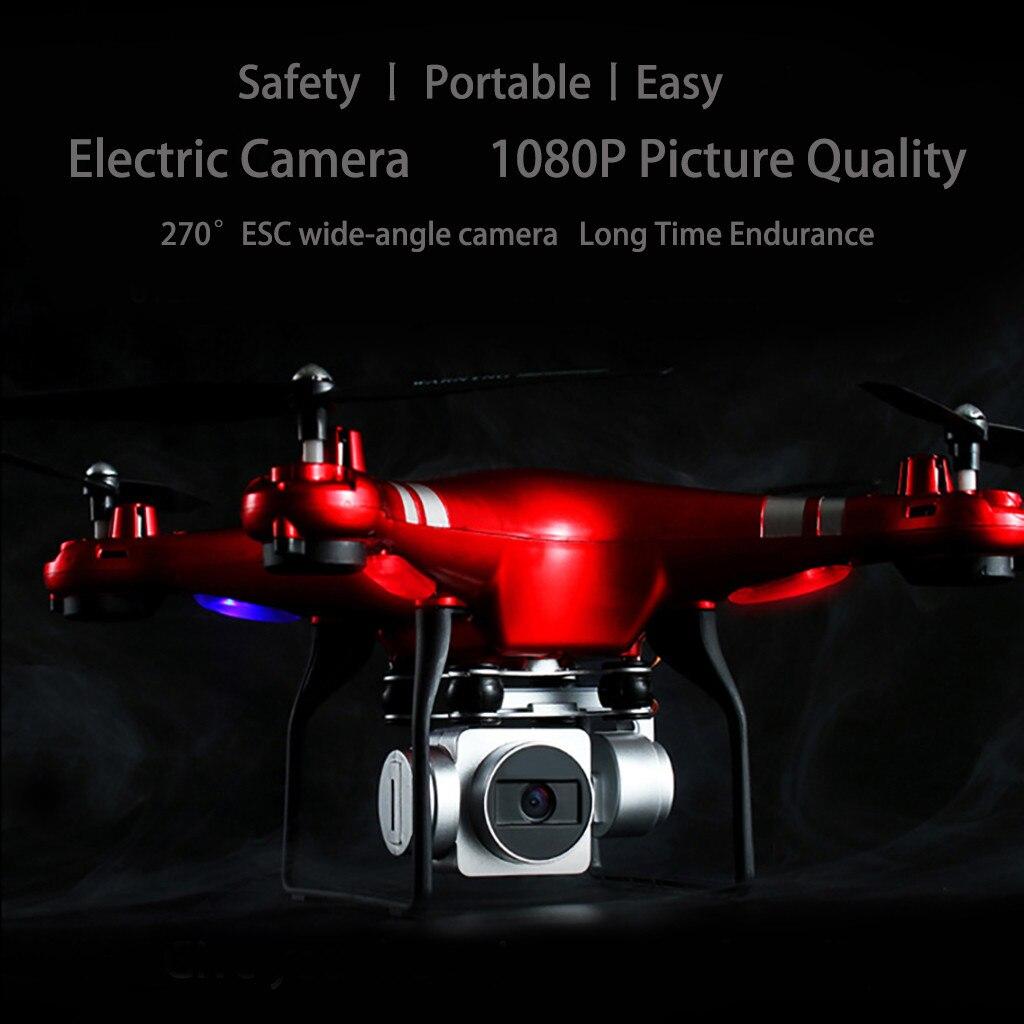 X52 réglable grand Angle 1080 p 5MP HD caméra WiFi FPV en direct sans tête Mode quadrirotor Drones avec caméra HD Rc quadrirotor 2019