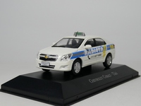 ixo 1:43 Chevrolet Cabalt Taxi Diecast model car