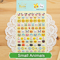 SST* 1 Sheet ' Small Animals ' 3D Bubble Sticker Decoration Decal DIY Diary Album Scrapbooking Kawaii Korea Stationery Post it +