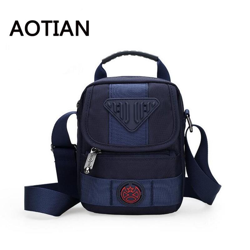 2017 AOTIAN Designer Crossbody Pungi pentru bărbați de înaltă calitate Crossbody sac sac de umăr pentru bărbați Nylon impermeabil Sling Bag