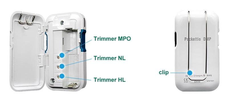 digital pocket hearing aid