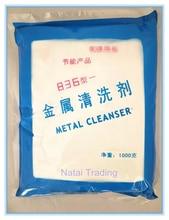 Lo sporco grasso pulizia detersivo in polvere per i ricambi auto hardware muffa, metallo detergente collocare con pulitore ad ultrasuoni